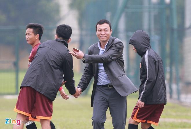 Tuan Anh ren ky thuat cung nhom cau thu chan thuong U23 VN hinh anh 11