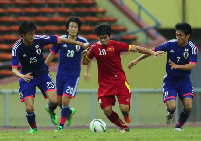 Gia ve xem U23 Viet Nam dau CLB Nhat Ban tu 100.000 dong hinh anh