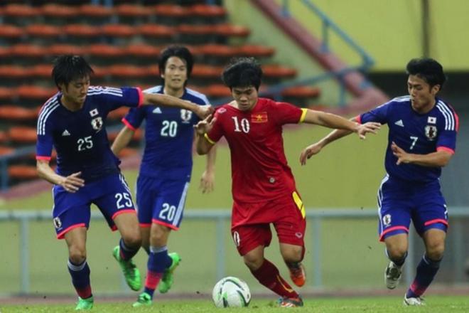 U23 Viet Nam so tai voi doi hang tu Nhat Ban chieu nay hinh anh