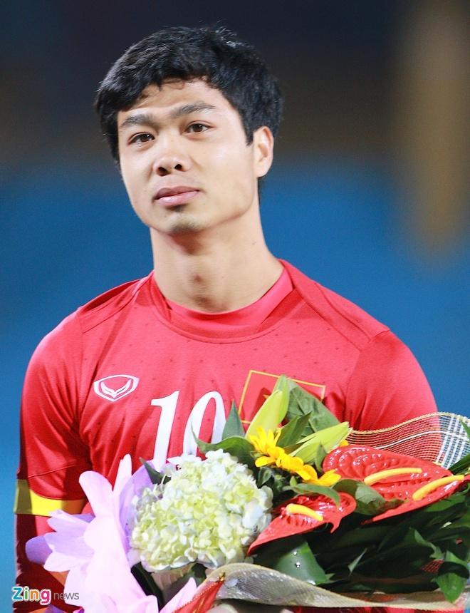 Cong Phuong chung chac trong lan dau lam doi truong U23 VN hinh anh 1