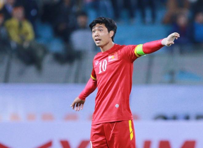 Cong Phuong chung chac trong lan dau lam doi truong U23 VN hinh anh