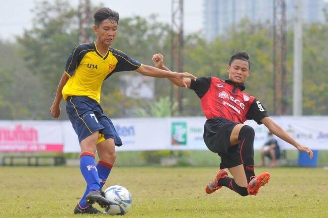 U14 PVF danh bai doi Thai Lan de vao ban ket U14 quoc te hinh anh 1