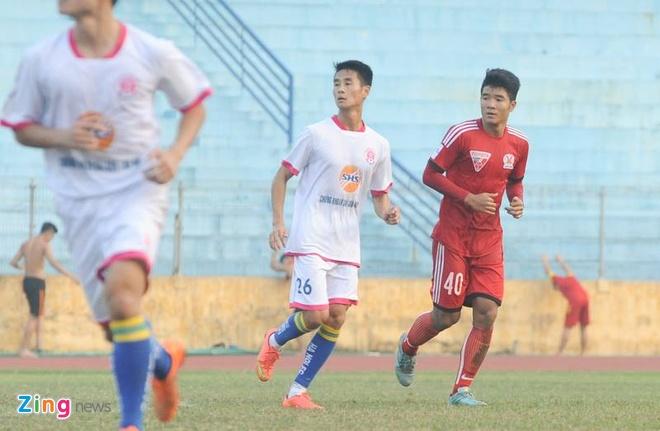 Tien dao U19 VN ghi ban giup Quang Ninh cam hoa CLB Ha Noi hinh anh 1