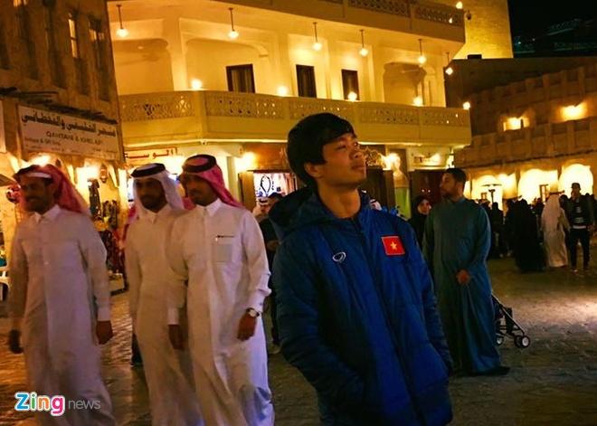 U23 Viet Nam di dao pho Qatar truoc tran gap U23 Nhat Ban hinh anh 1