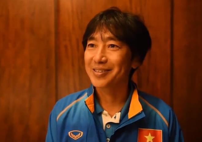 HLV Miura: 'Chung toi co tham vong o lan dau du U23 chau A' hinh anh 1