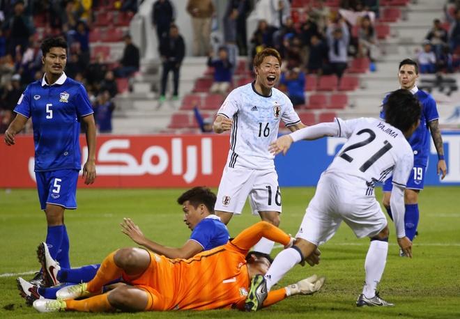 U23 Thai Lan thua dam U23 Nhat Ban 4 ban khong go hinh anh 1