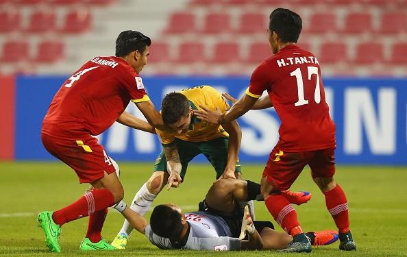 Tien dao U23 Australia de doa thu mon Viet Nam tren san dau hinh anh