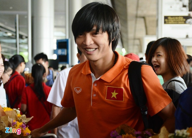 Cong Phuong sang Nhat hoi quan vao mung 8 Tet hinh anh 1