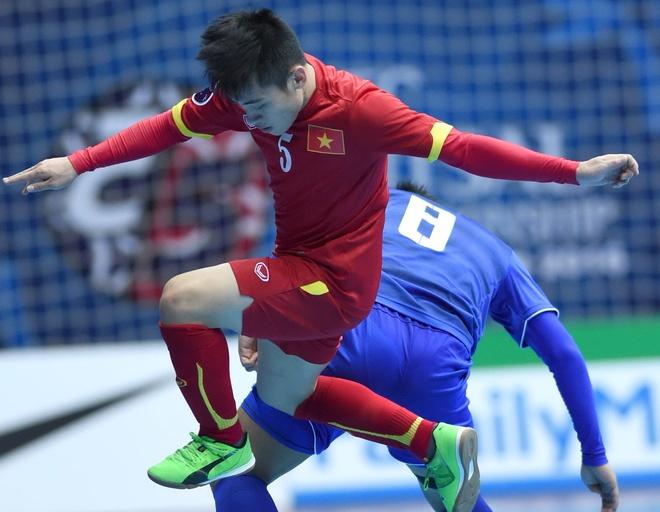 'Futsal Viet Nam da cham nguong trinh do cua minh' hinh anh