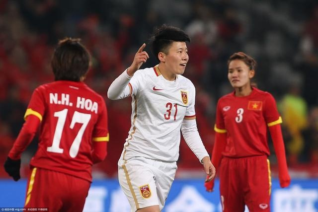 Tong hop tran dau: DT nu Viet Nam 0-2 Trung Quoc hinh anh