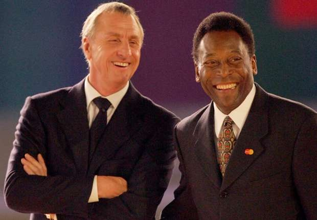 Nguoi Brazil goi Cruyff la Thanh vi lo goi Pele la Vua hinh anh