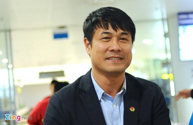 HLV Huu Thang: Toi chua nghi den bai hoc sau tran thua Iraq hinh anh 1