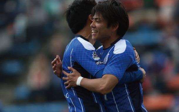 Doi bong cua Cong Phuong, Tuan Anh cung thang o J.League 2 hinh anh