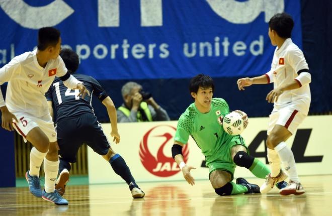 Futsal Viet Nam thua dam Nhat Ban 0-7 hinh anh 6