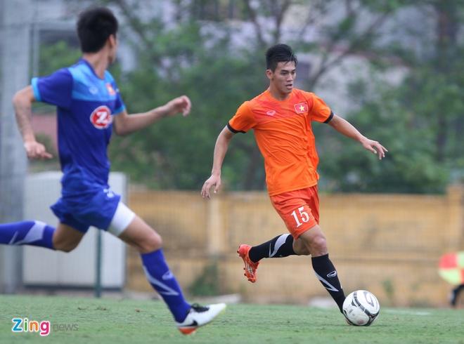 Tuyen Viet Nam muon cau thu U19 cho bai tap doi khang hinh anh 1
