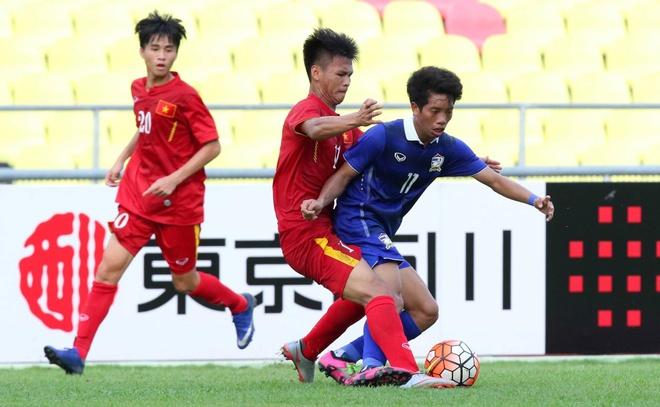 U19 Viet Nam thua U21 Thai Lan 2 ban cach biet hinh anh 1