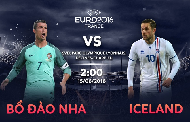 Bo Dao Nha vs Iceland: Kich si Ronaldo ra tran hinh anh