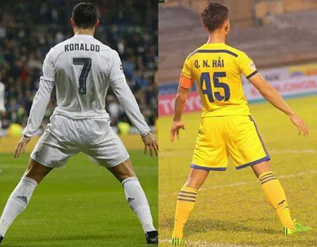 Ronaldo ngan tieng gay cua ga trong Phap anh 2
