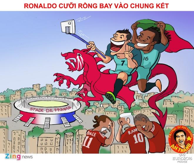Hi hoa hanh trinh vo dich Euro 2016 cua Ronaldo va dong doi hinh anh 11