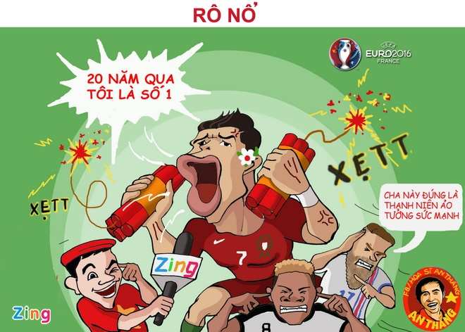 Hi hoa hanh trinh vo dich Euro 2016 cua Ronaldo va dong doi hinh anh 4