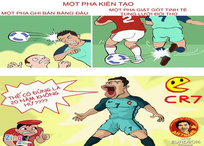 Hi hoa hanh trinh vo dich Euro 2016 cua Ronaldo va dong doi hinh anh 6