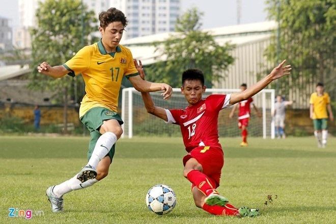 U16 Viet Nam bat ngo thang dam U16 Australia 3-0 hinh anh 1