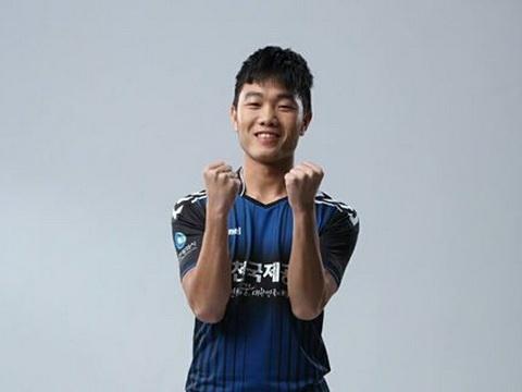 Xuan Truong lap cu dup cho Incheon United o R.League hinh anh