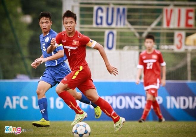 U16 Viet Nam an mung kieu quan doi khi thang Myanmar 5-1 hinh anh 1