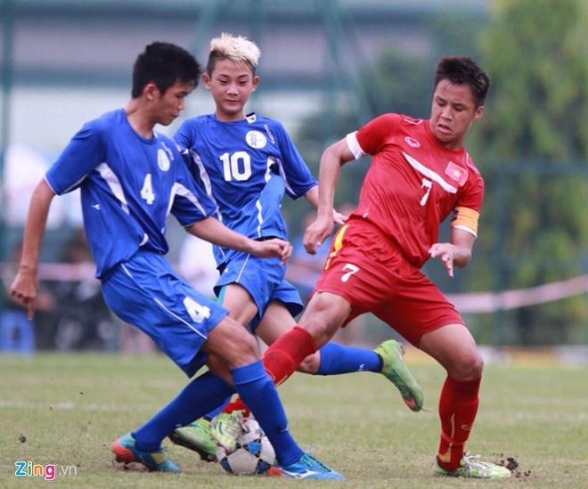 U16 Viet Nam hoa doi cuoi bang anh 1