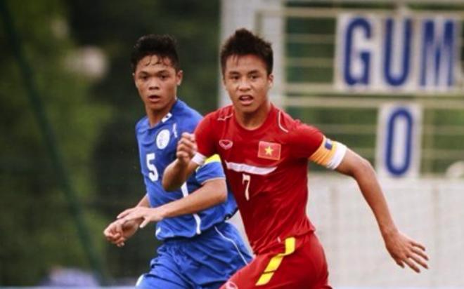 U16 Viet Nam hoa kich tinh doi cuoi bang Philippines 3-3 hinh anh