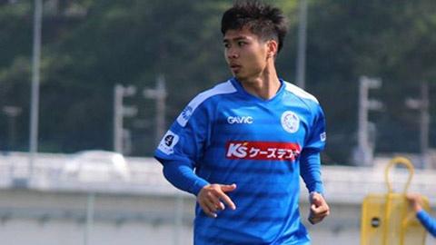 10 phut Cong Phuong no luc the hien o J.League 2 hinh anh