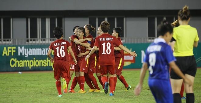 tuyen nu Viet Nam vs Thai Lan anh 1