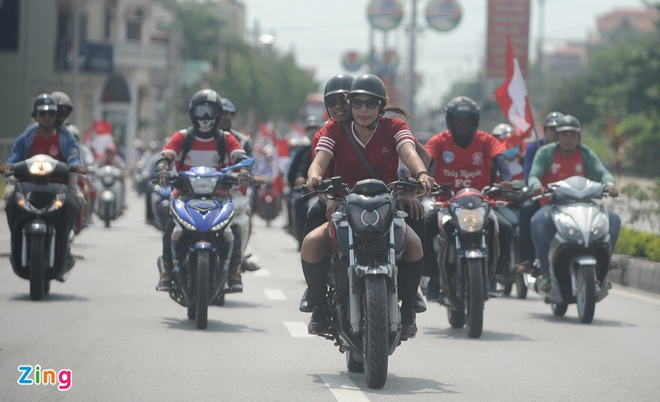 CDV Hai Phong nhuom do duong tien ve Cam Pha hinh anh 4