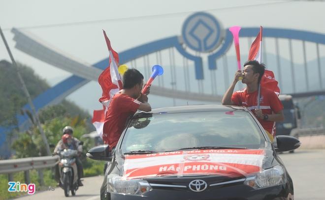 CDV Hai Phong nhuom do duong tien ve Cam Pha hinh anh 7
