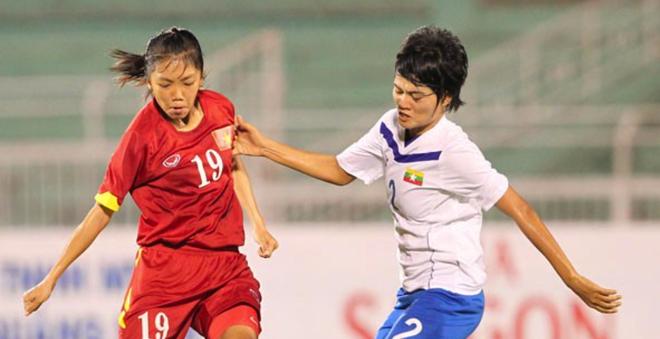 Ban ket AFF nu Myanmar vs Viet Nam: Thu thach kho khan hinh anh