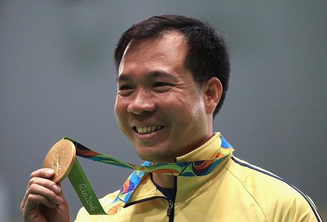 Hoang Xuan Vinh: 'Toi hanh phuc khi mang vang ve cho VN' hinh anh
