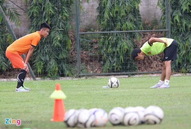 U19 Viet Nam tap o Ha Noi anh 7