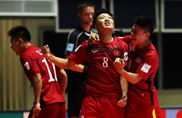 Futsal Viet Nam tang 3 bac tren BXH the gioi hinh anh