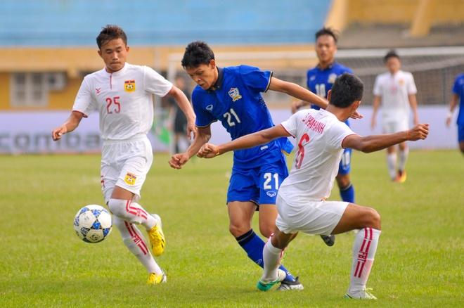 U19 Thai Lan vat va thang Lao 2-1 hinh anh 1