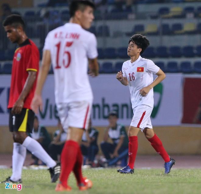 Phan Thanh Hau nang no trong lan dau ra san o U19 DNA hinh anh 1