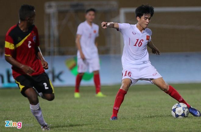 Phan Thanh Hau nang no trong lan dau ra san o U19 DNA hinh anh 3