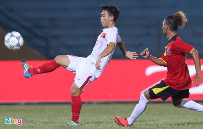Phan Thanh Hau nang no trong lan dau ra san o U19 DNA hinh anh 6