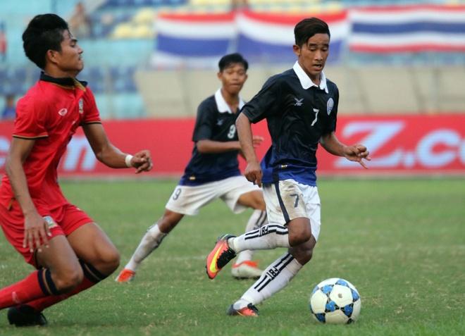 U19 Thai Lan thang nguoc Campuchia hinh anh 1
