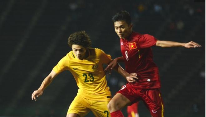 Video U16 Viet Nam danh bai U16 Australia 3-2 hinh anh