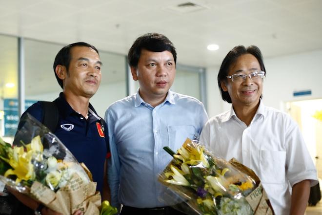 VFF thuong U16 Viet Nam 400 trieu ngay tai san bay Noi Bai hinh anh 3