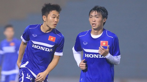 Xuan Truong, Tuan Anh truyen cam hung cho U19 Viet Nam hinh anh