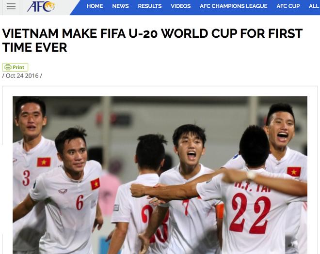 FIFA, AFC chuc mung ky tich World Cup cua U19 Viet Nam hinh anh 2