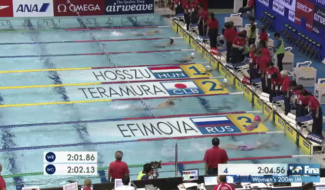 Anh Vien pha ky luc quoc gia o 200 m hon hop FINA World Cup hinh anh 2