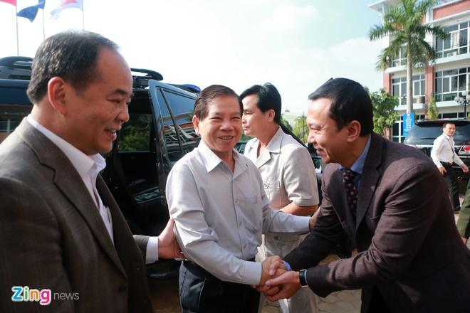 Nguyen Chu tich nuoc Nguyen Minh Triet tham cac DTQG hinh anh 1