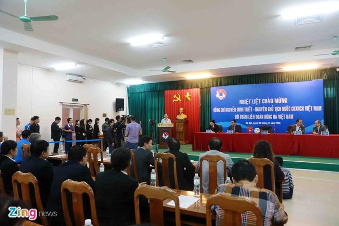 Nguyen Chu tich nuoc Nguyen Minh Triet tham cac DTQG hinh anh 4
